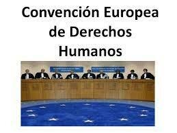 1950 La Convención Europea de Derechos Humanos