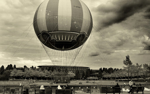 El globo aerostático