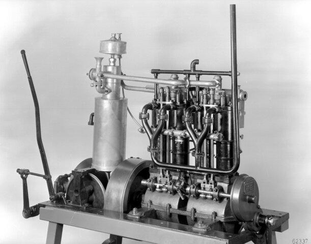 El motor a gasolina