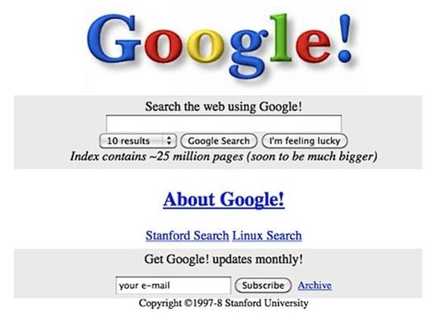 aparición de Google