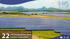 subasta de fuentes no convencionales de energías renovables