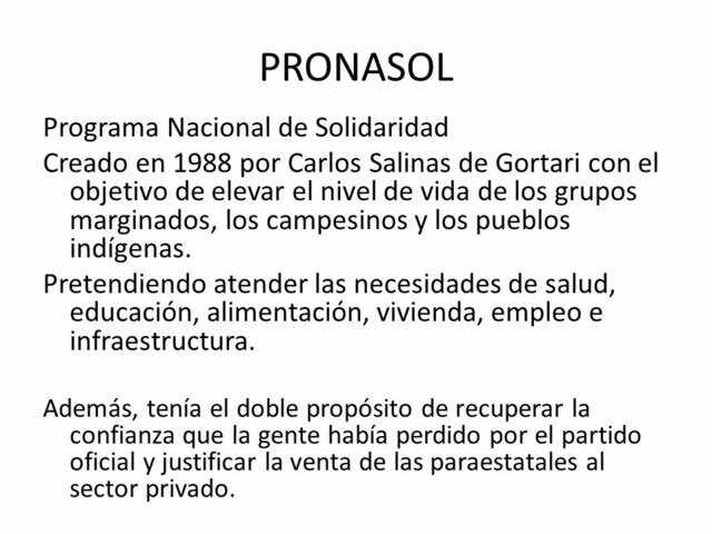 Programa Nacional de Solidaridad