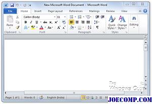 MS Office 2010