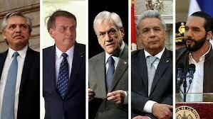 Los presidentes de los países de Centro América