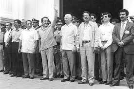 Se suscribe el Acuerdo de San Lorenzo