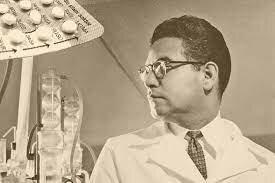 Primera píldora anticonceptiva.