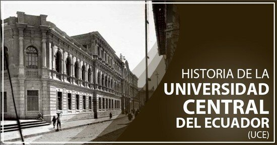 Creación de la Universidad Central del Ecuador.