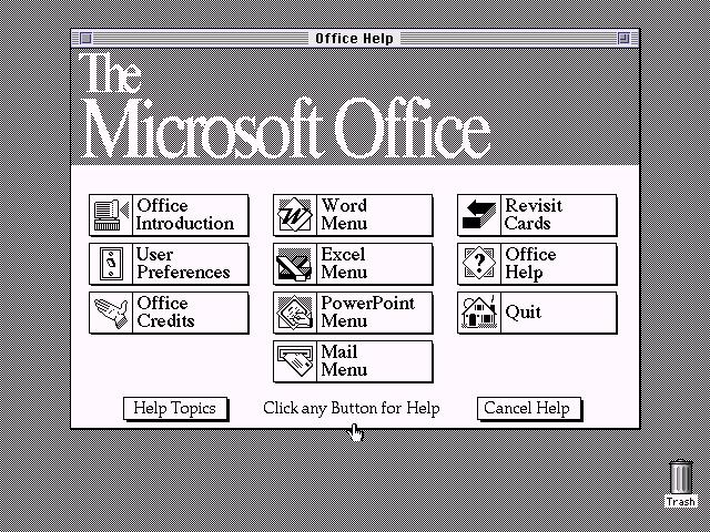 Microsoft Office 2.5