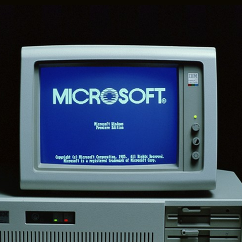 Anuncio do Windows 1.0
