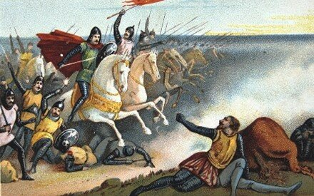 Norman invasion of England and beginning of the feudal system