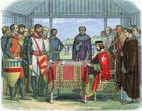 Magna Carta issued to King John of England