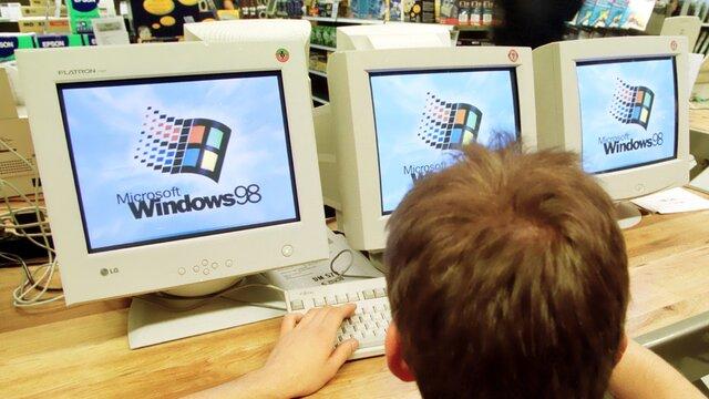Lançamento do Windows 98