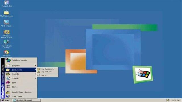 Lançamento Windows Me