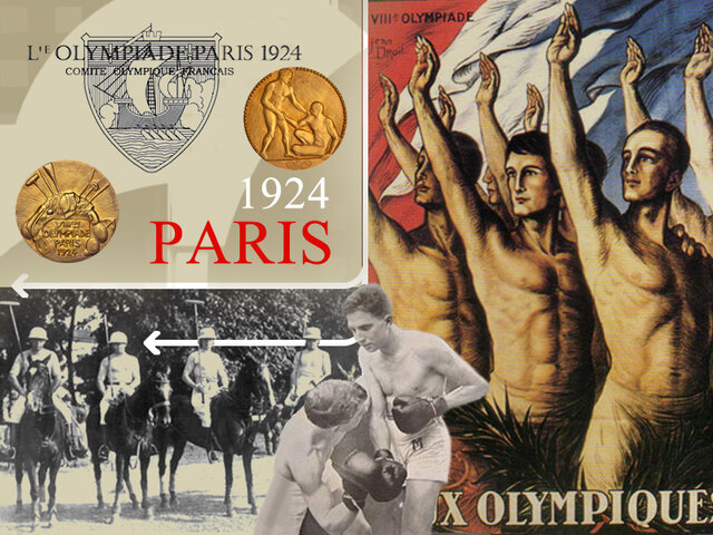 LOS JUEGOS OLIMPICOS PARIS 1924