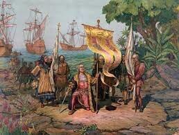 C. Colombo arriva nelle Indie e trova indigeni giocare con palle pesanti di gomma vegetale
