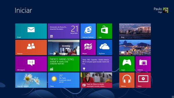 Lançamento do Windows 8