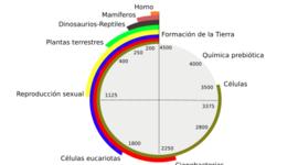 EL ORIGEN DE LA CÉLULA timeline