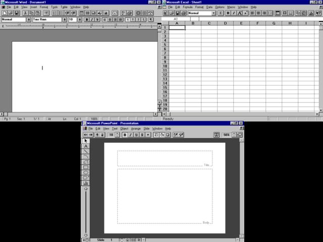 MS Office 3.0