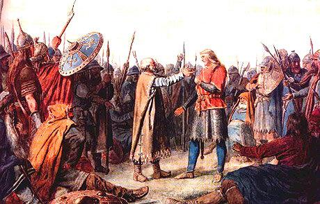 Olav Tryggvason blir konge