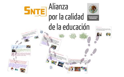 """LA """"Alianza por la calidad de la Educación"""""""