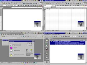 Office 97 (8.0) e Office 97 (8.5)