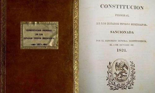 Constitucion Mexicana 4-Octubre-1824