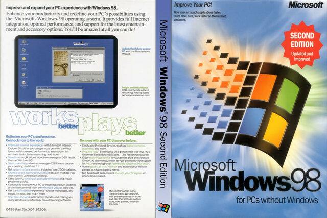 Windows 98 SE (Segunda Edição)