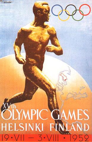 Los Juegos Olímpicos de Helsinki 1952,