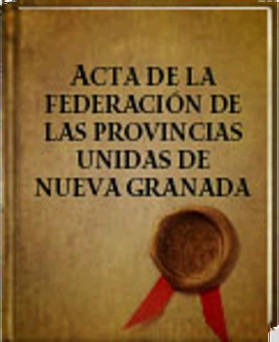 1811 - Federación de las Provincias Unidas de la Nueva Granada