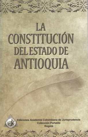 1812 - Constitución del estado de Antioquia