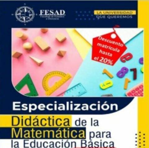 Creación de la Especialización en Didáctica de la Matemática para la Educación Básica