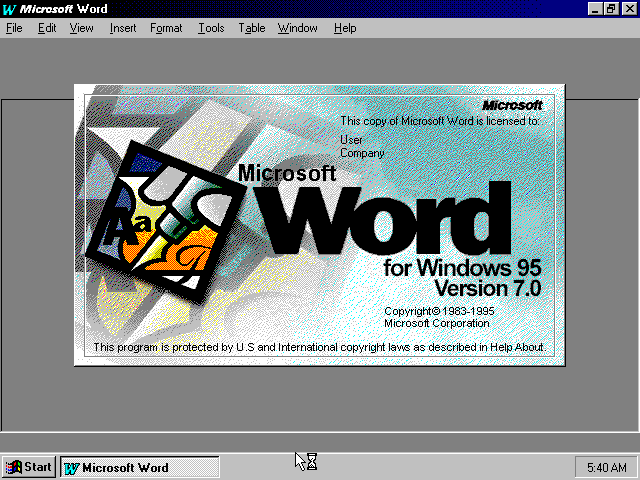 MS-Office 95