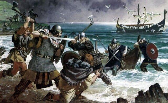 Daneses y Anglosajones