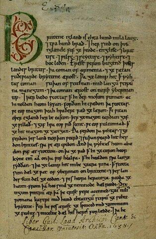 La Crónica Anglosajona