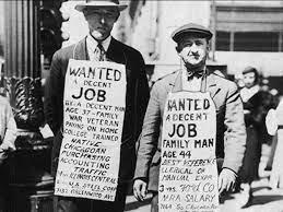 Start of Great Depression