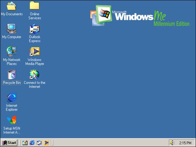 Windows  Millenium Edition ME