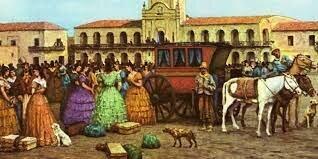 El comercio de los Criollos
