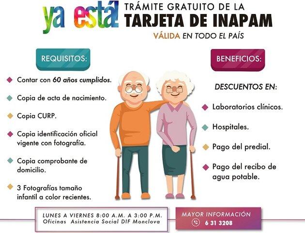 INAPAM (Instituto Nacional de las Personas Adultas Mayores)