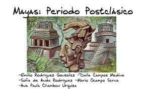 Periodo Posclásico (950-1539 d. C.)