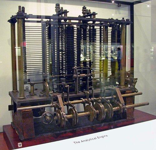 Diseño de la máquina analítica de Charles Babbage