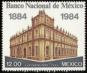 SE CREA EL BANCO DE MEXICO