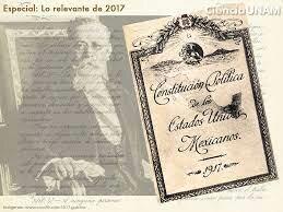 CREACION DE LA CONSTITUCIÓN DE 1917