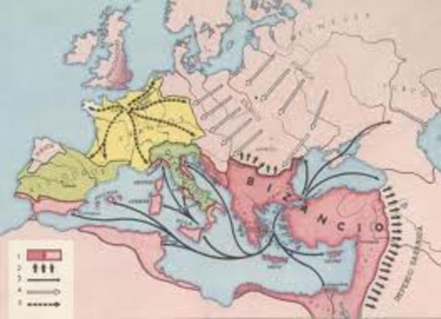 Apogeo del Imperio Bizantino con Justiniano.--