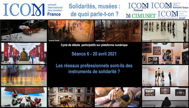 ICOM France - Grèce- Finlande- Israel CIMUSET