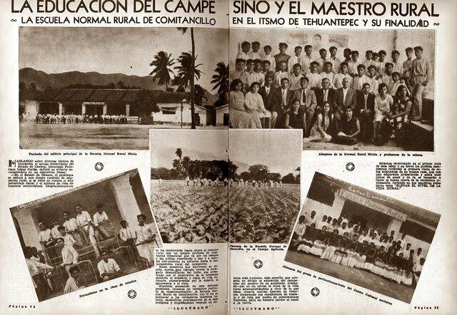 1922 Escuelas Normales Rurales