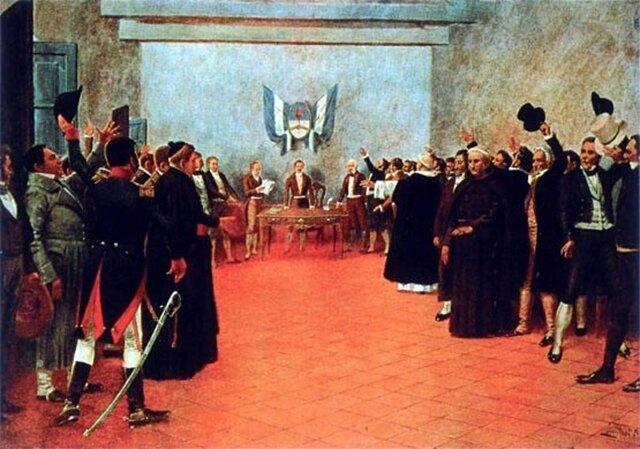 Proclamación de independencia de las provincias unidas de sudamérica