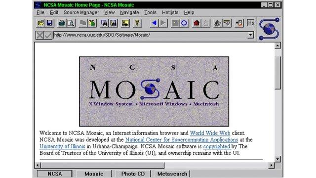 Mosaic, el primer navegador de la web