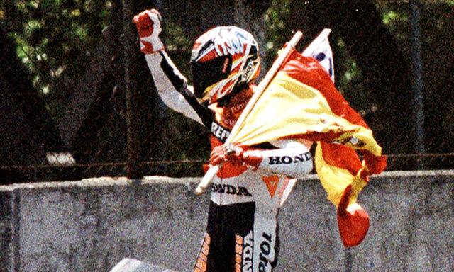 Crivillé, primer campeón de la categoría reina