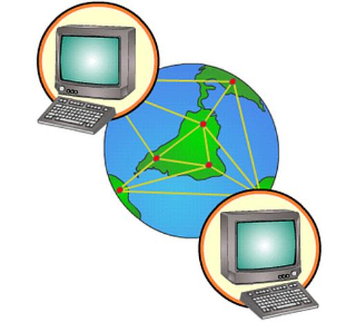 100.000 ordenadores conectados a Internet y se crea un prototipo de la World Wide Web
