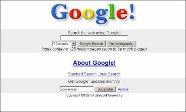 Aparición Google
